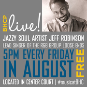 Free BHCP Live! Performance with Jeff Robinson from Loose Ends at Baldwin Hills Crenshaw