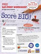 FREE SAT Prep Workshop - Saturday, May 14, 2016