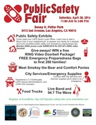 Horses and Bears in L.A. - UNNC Public Safety Fair - April 30, 2016
