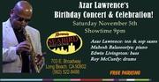Azar Lawrence's Birthday Concert & Celebration