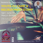 Baldwin Hills Crenshaw Hosts: Camp Spin-Off Youth Dj Camp and Recruitment Event