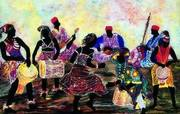 The 'new' World STAGE 'new' Sign Celebration and Art Opening · Feat. Works by AZIZ DIAGNE