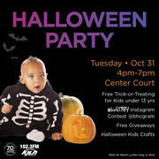 Free Kid's Halloween Event at Baldwin Hills Crenshaw