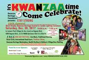 Kwanzaa Heritage Festival, Candlel Lighting Ceremony, Block Parade .