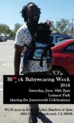 Black Babywearing Week 2018 - Los Angeles Meet Up