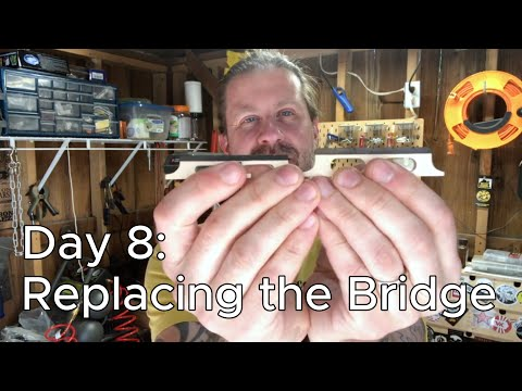 Banjo Build Diary: Day 8 [Replacing the Bridge]