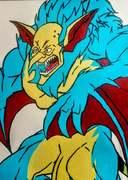 Mr. Burns aka Monster Vampire Burns from The Simpsons Treehouse of Horror