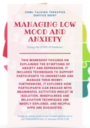 Managing Low mood and Anxiety Workshop