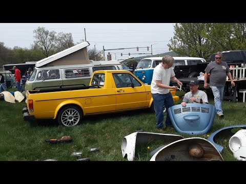 A Walk About the VW Swap Meet At VolksFest 2021 Video 1