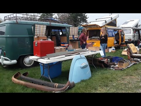 A Walk About the VW Swap Meet At the 2021 VolksFest  Video 2