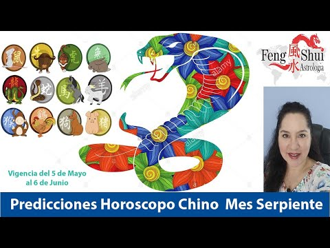 Horoscopo Chino Mayo Mes de la Serpiente