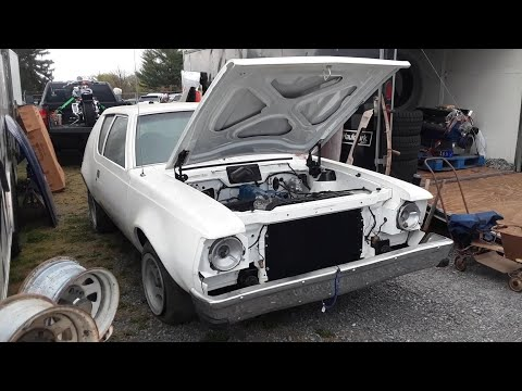 1976 AMC Gremlin At the 2021 Spring Carlisle Swap Meet Some Assembly Required