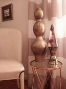 Gold Vingette display