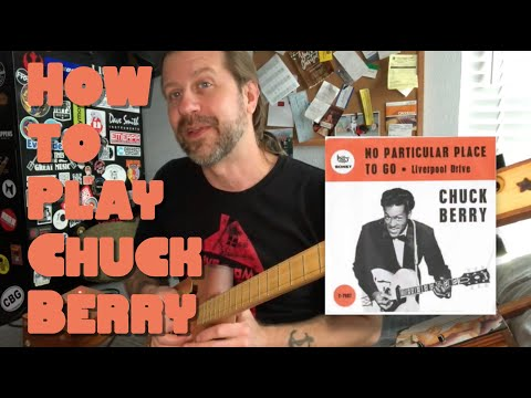 How to Play 'No Particular Place To Go' on 3-string CBG