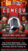 Get your tickets early for the Gospel Comedy Brunch 2021