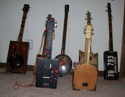 Stand up mandolins (front row)