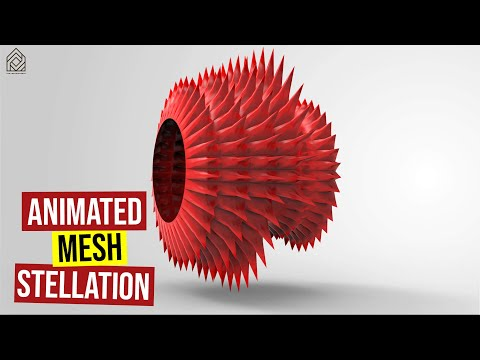 Animated Mesh Stellation