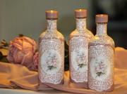 ρομαντικά μικρά μπουκάλια