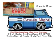 Gus's Crab Shack Cruise