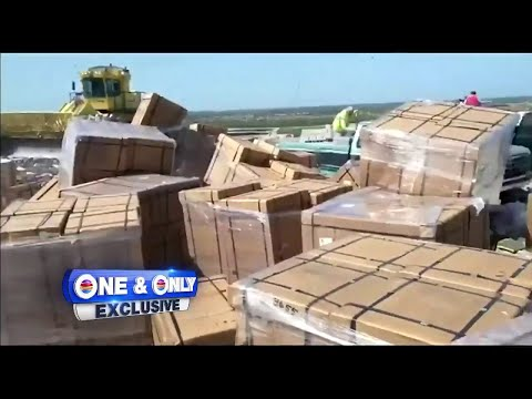 Video shows pallets of ventilators dumped in Miami-Dade landfill