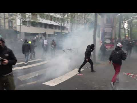 May 1st. Chaos in Paris
