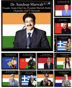 Sandeep Marwah Inaugurated International Edu Conclave 2021