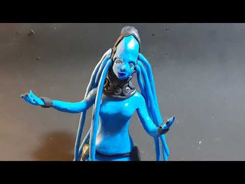 Diva Plavalaguna The Fifth Element clay animation