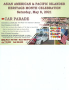 Car Parade - Asian American and Pacific Islander Heritage Month Celebration