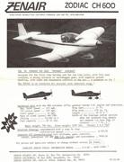 1980s Zenair brochures