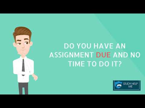 """A Quick Guide To Get Best Quality Assignment Help From """"Study Help Me"""""""