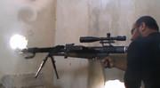 Syrian Insurgent Made DShK Sniper Rifle aka 'Dushka'