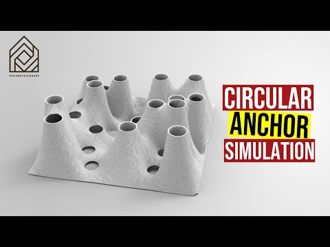 Circular Anchor Simulation