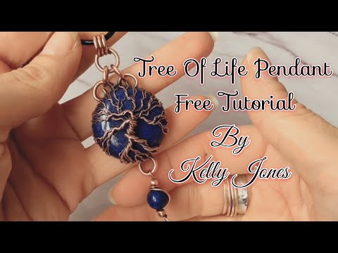 Tree Of Life Pendant Tutorial.