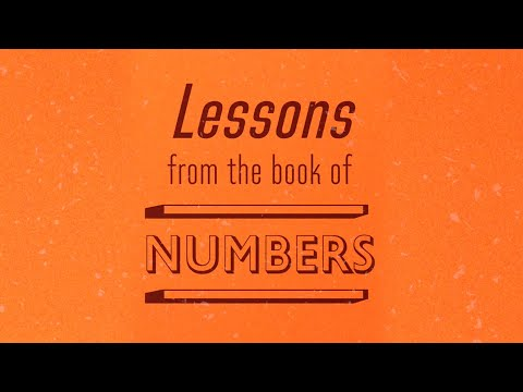 Lessons From the Book of Numbers - Tony Evans