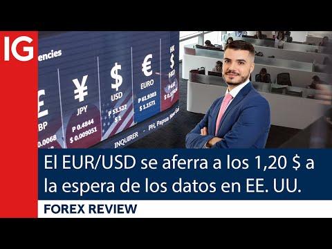 El EUR/USD se aferra a los 1,20 DÓLARES esperando a los DATOS de EMPLEO en EE.UU.