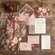 Romantic Wedding Invitation Rustic Wedding Cards