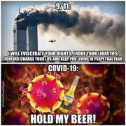 911 vs Covid-19