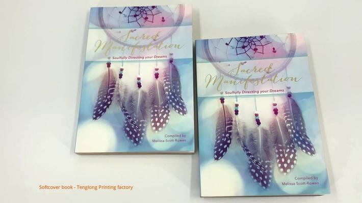 Custom high quality soft cover book offset printing cheap paperback book printing