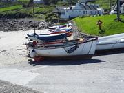 Gaeltacht Thiar Thir Chonaill, paintout in Portnoo.