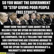 So You Want Government to,Stop Giving Poor People Free Stuff
