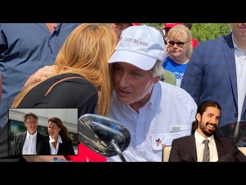 Bill & Melinda, Lin Wood Spotted Wearing God Bless! Hat & Ron DeSantis Rescinds Emergency Order!