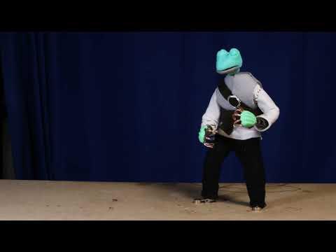 Ball throw animation
