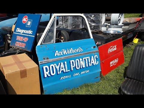 2021 Spring Carlisle Swap Meet Safari Video 9 Muscle Car Parts To Tin Toy Trucks