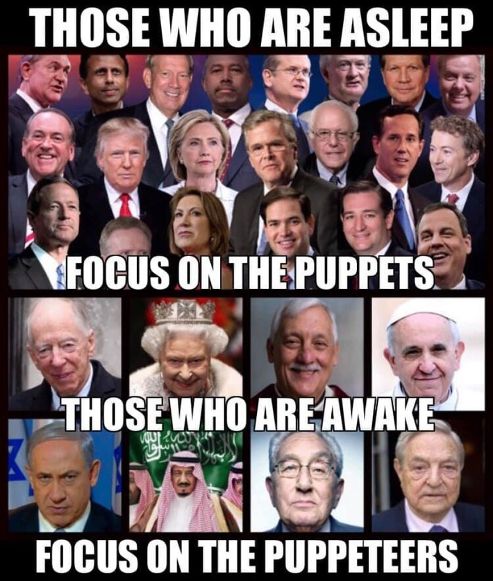 these puppeteers that are puppeteering the puppets