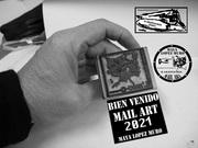 Bienvenido mail art 2021