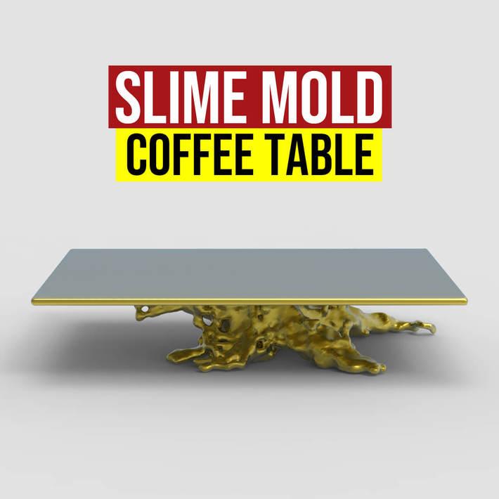 Slime Mold Coffee Table