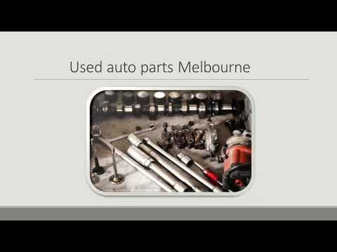 Valuable Used Auto Parts At Cheaper Rates