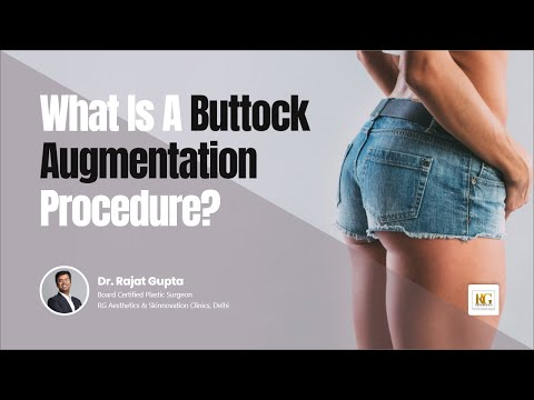 What is a buttock augmentation procedure|Buttock Contouring|Butt Lift| Dr Rajat Gupta |RG Aesthetics