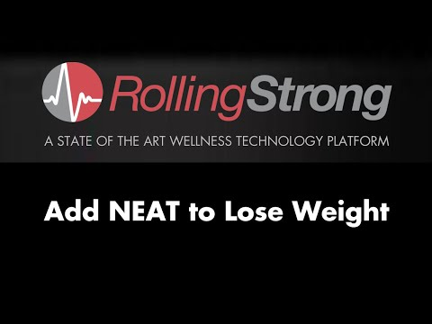 Add NEAT to Lose Weight