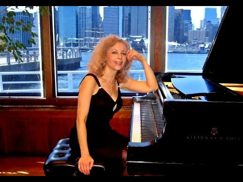 Schumann:  Fantasie in C major (part 1) - Sophia Agranovich at the Bargemusic